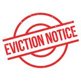 Eviction Notice rubber stamp Royalty Free Stock Photos