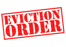EVICTION ORDER Stock Photos