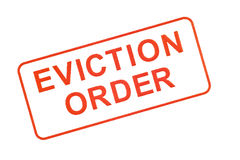 Eviction Order Rubber Stamp 2 Royalty Free Stock Images