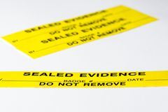 Evidence Stock Photography