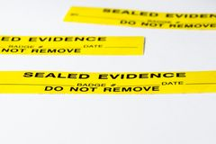 Evidence Royalty Free Stock Photo
