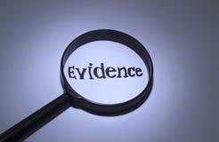 evidence Zdjęcie Stock