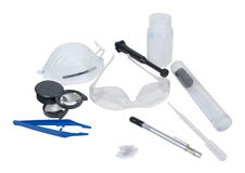 Evidence Retrieval Kit Royalty Free Stock Photo