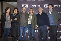 Evie Colbert, Tracey Stewart, Jon Stewart, Chris Hegedus, D.A. Pennebaker, and Stephen Colbert Stock Images