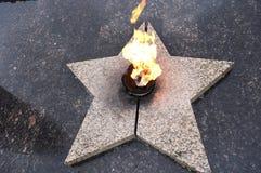 evig flamma royaltyfria foton