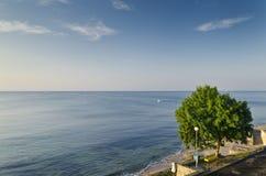 Evighet på bulgarisk sandig kust fotografering för bildbyråer