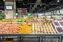 EVIGHETsupermarketinterio Royaltyfri Fotografi