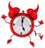 Evil alarm clock Stock Photos