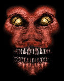 Evil Ape Monster Portait Stock Images
