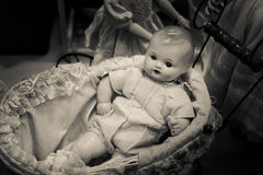 Evil Baby Doll Royalty Free Stock Photo