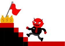 Evil Businessman Royalty Free Stock Photo