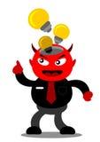 Evil businessman Royalty Free Stock Images