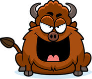 Evil Cartoon Bison Stock Photos