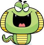 Evil Cartoon Cobra Stock Images