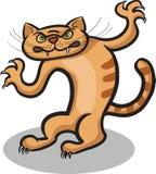 Evil cat Royalty Free Stock Image