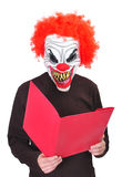 Evil clown 6 Stock Photos