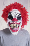 Evil clown Stock Photo