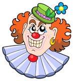 Evil clowns head Stock Photography