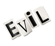 Evil concept. Royalty Free Stock Photography