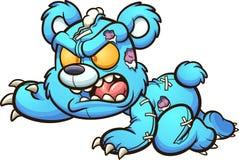 Free Evil Crawling Cartoon Teddy Bear. Royalty Free Stock Image - 198614696