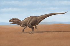 Indominus rex stock image