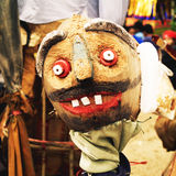 Evil doll from  Ancestor Worship  Festival in Thailand Stock Image