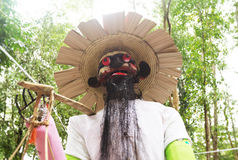 Evil doll from  Ancestor Worship  Festival in Thailand Royalty Free Stock Photos
