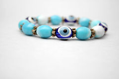 Evil Eye. Home made in the studio Stock Images