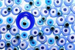 Evil eye amulets With Isolated White Background Stock Image