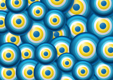 Evil eye background Royalty Free Stock Images