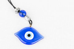 Evil eye bead. Royalty Free Stock Image