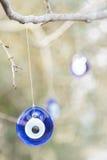 Evil eye bead Royalty Free Stock Photo