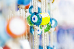 Evil eye bead. In the Turkey royalty free stock photo