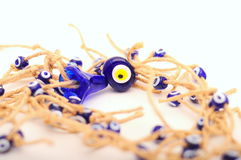 Evil eye beads Stock Image