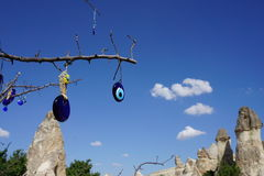 The Evil Eye in Cappadocia Turky Royalty Free Stock Images