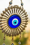 Evil eye glass Turkish amulet gift Stock Images
