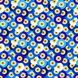 Evil eye pattern Royalty Free Stock Image
