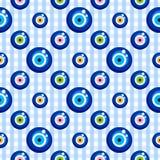 Evil eye seamless pattern Royalty Free Stock Image