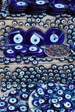 Evil Eye Souvenirs Turkey. Turkish souvenirs of the evil eye Royalty Free Stock Photography