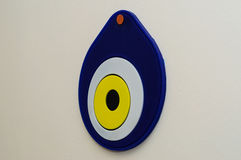 Evil Eye Talisman On The Wall Of A House Stock Photography