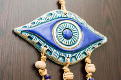 Evil Eye Talisman On The Wall Of A House Royalty Free Stock Photo