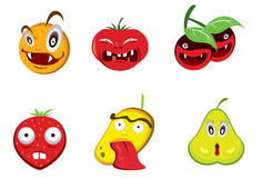 Evil Fruits Stock Photography