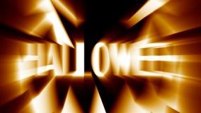 Evil Halloween jack-o-lanternspooky scary horror face. Halloween celebration pumpkin jack-o-lantern evil spooky scary horror glowing face vector illustration