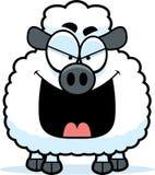 Evil Little Lamb Stock Image
