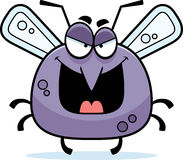 Evil Little Mosquito Royalty Free Stock Photos