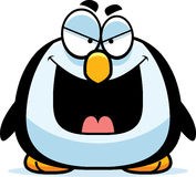 Evil Little Penguin Royalty Free Stock Photos