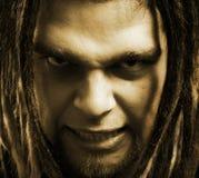 Evil man. Royalty Free Stock Photography