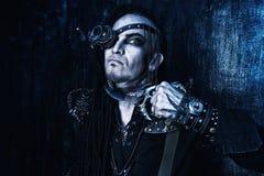 Evil man Royalty Free Stock Photography