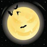 Evil moon. Royalty Free Stock Photography