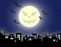 Evil Moon Stock Image